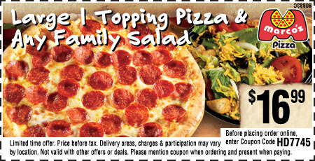 Marcos pizza coupon code